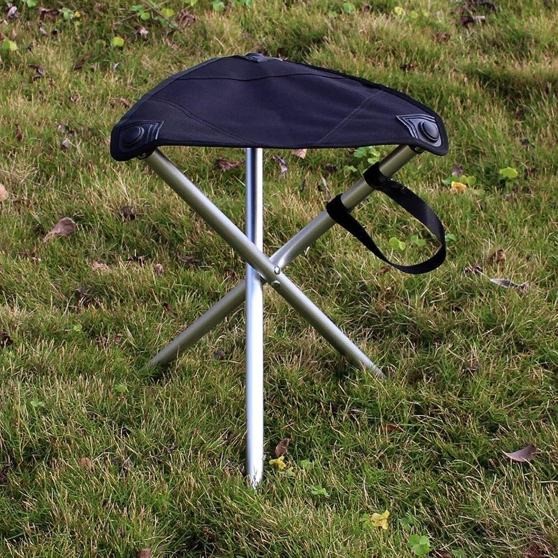 Dszgo UltraLight Aluminum Folding Chair Mazar Sketch Folding Chair Outdoor Portable Fishing Stool Chair Painting Stool