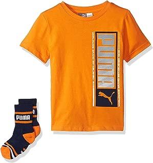 PUMA Little Boys' T-Shirt & Sock Set