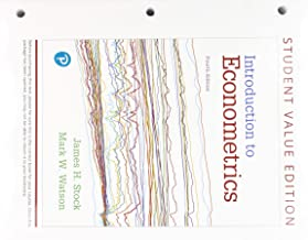 Introduction to Econometrics, Student Value Edition Plus MyLab Economics with Pearson eText -- Access Card Package (4th Edition) (Pearson Series in Economics)