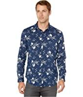 John Varvatos Collection - Slim Fit Floral Button Down W416V2