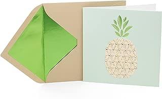 Hallmark Signature Blank Card (Pineapple)