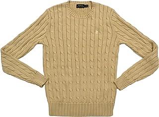 Ralph Lauren 女士粗线针织圆领毛衣