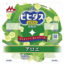 [冷蔵] 森永乳業 ビヒダスBB536 低脂肪 アロエヨーグルト 75g×4個