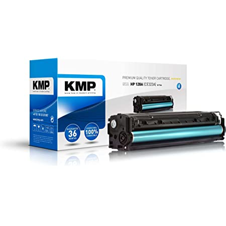 Kmp Toner Kompatibel Hp 128a Ce323a Magenta Für Hp Laserjet Pro Cm 1415 Cp 1525 Bürobedarf Schreibwaren