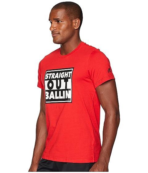 Out adidas Straight Tee adidas Ballin Ballin Out adidas Straight Ballin Straight Tee Tee Straight adidas Out qpTCUwWCO