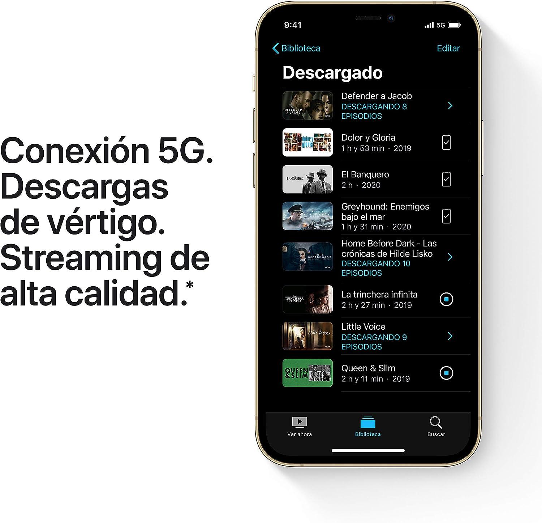 Conexión 5G para descargas ultrarrápidas y streaming en máxima calidad