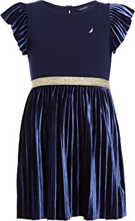 Girls' Holiday Party Short Sleeve Dress