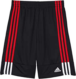 Clashing 3-Stripes Shorts (Big Kids)