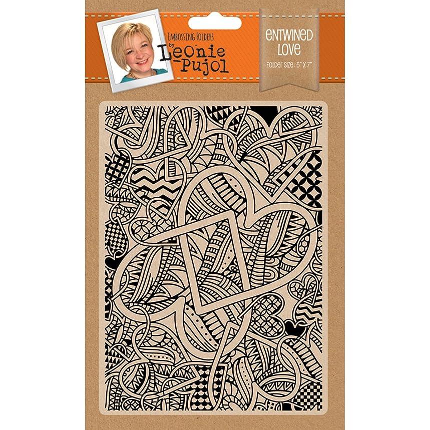 Crafter's Companion LP-EF5-ELOVE Leonie Pujol Embossing Folder 5