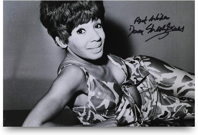Dame Shirley Bassey Signed 12x8 Photo Diamonds Are Forever Autograph Memorabilia