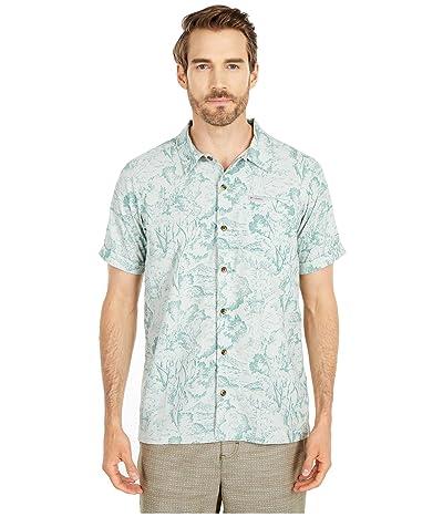 Columbia Outdoor Elementstm Short Sleeve Print Shirt (Pixel Wild Trees Print) Men