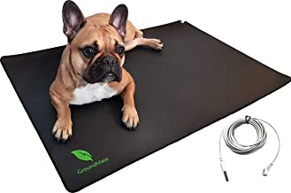 Groundmate Grounding Mat, Multi-Purpose Conductive Leather Mat with Grounding Cord. Premium Quality Earthing Mat 35.4 x 23...