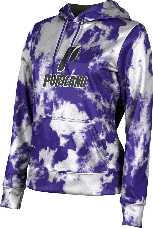 ProSphere University of Portland Girls' Pullover Hoodie, School Spirit Sweatshirt (Grunge)