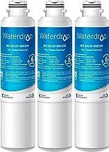 Waterdrop DA29-00020B Refrigerator Water Filter, Replacement for Samsung HAF-CIN/EXP, 3 Pack