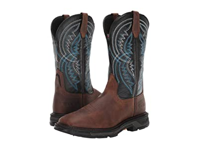 Ariat WorkHog(r) XT Coil Wide Square Toe (Earth/Twilight) Men