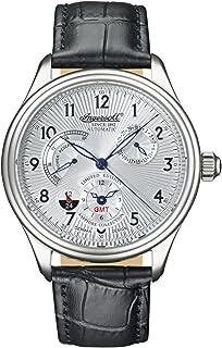 インガーソル 腕時計 自動巻 パワーリザーブ サン&ムーン シースルーバック IN8410WH [並行輸入品]
