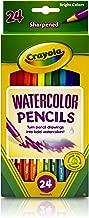 Crayola 24ct Watercolor Colored Pencils