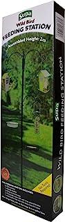 Supa Vit-40576 Mangeoire pour Oiseaux Sauvages avec Bol d'eau, Bol en Maille pour Les vers de Farine, etc. et 3 Bras pour ...