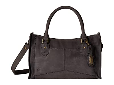 Born Eva Satchel (Black) Satchel Handbags