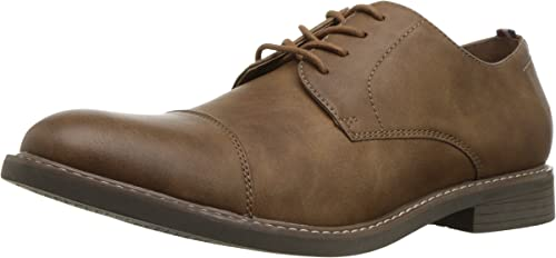 IZOD Men's IKE Oxford, tan, M105 M US