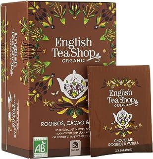 Rooibos Cacao & Vanille Bio - English Tea Shop - 20 Sachets - 40g