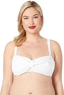 Plus Size 1950s Style Dee Dee Swim Top