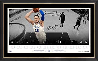 Sport Entertainment Products Ben Simmons Signed 'Rookie of The Year'