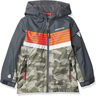 LONDON FOG baby-boys Midweight Water Resistant Hooded Jacket