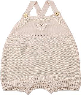 BOLORAMO Barboteuse pour bébé, Tenues d'une Seule pièce tricotées artisanalement de qualité pour bébé pour Un Usage Quotid...