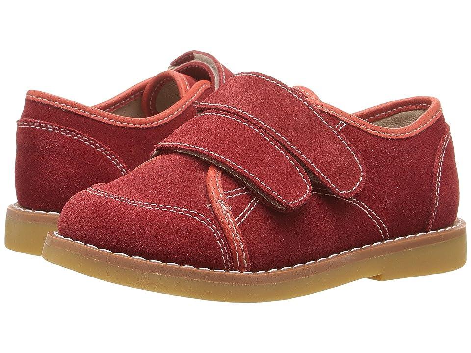 Elephantito Low Top Sneaker (Toddler/Little Kid/Big Kid) (Red) Boy