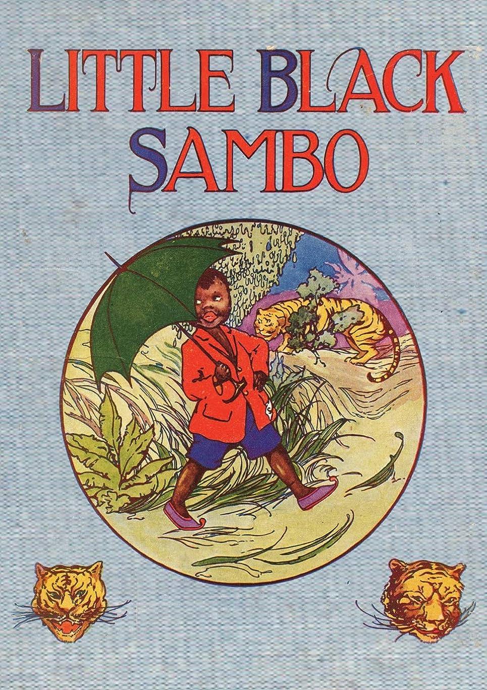 カバー教会構造Little Black Sambo: Uncensored Original 1922 Full Color Reproduction