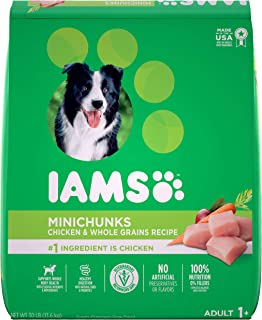 Iams Proactive Health Minichunks & Adult Dry Dog Food, Chicken & Lamb Flavor