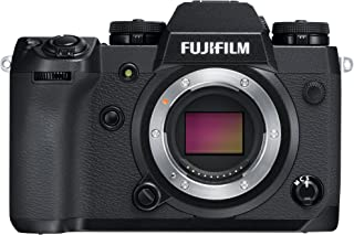 Fujifilm X-H1 - Cámara Digital sin Espejo (24.3 MP 4K/30p) Color Negro