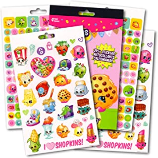 Shopkins Stickers Over 295 Reward Activity Stickers