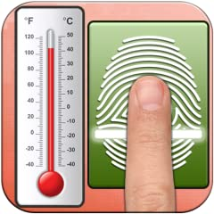 How To Use * Select your gender and click next button. * Now Place your Finger on fingerprint scanner and wait for scanning. * After Complete your finger scanning this fake thermometer application show you a result of your fever on digital temperatur...