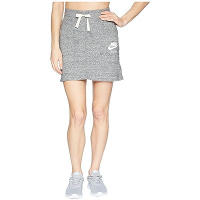 Nike Sportswear Gym Vintage Skirt (Carbon Heather/Sail) Women