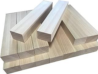 ひのき、【端材】詰め合わせ、角材詰合せ (4cm×3cm×14本)