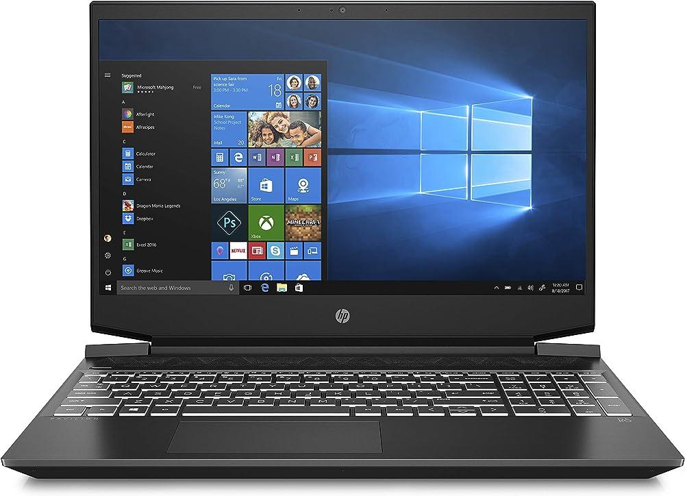 Hp - gaming pavillon notebook pc portatile amd ryzen 7 ram 8 gb ssd 512 gb nvidia geforce gtx 1650ti 4 gb 15-ec1000sl