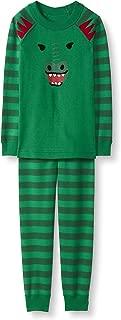 Kids Organic Cotton 2-Piece Long-Sleeve Character Pajama Set