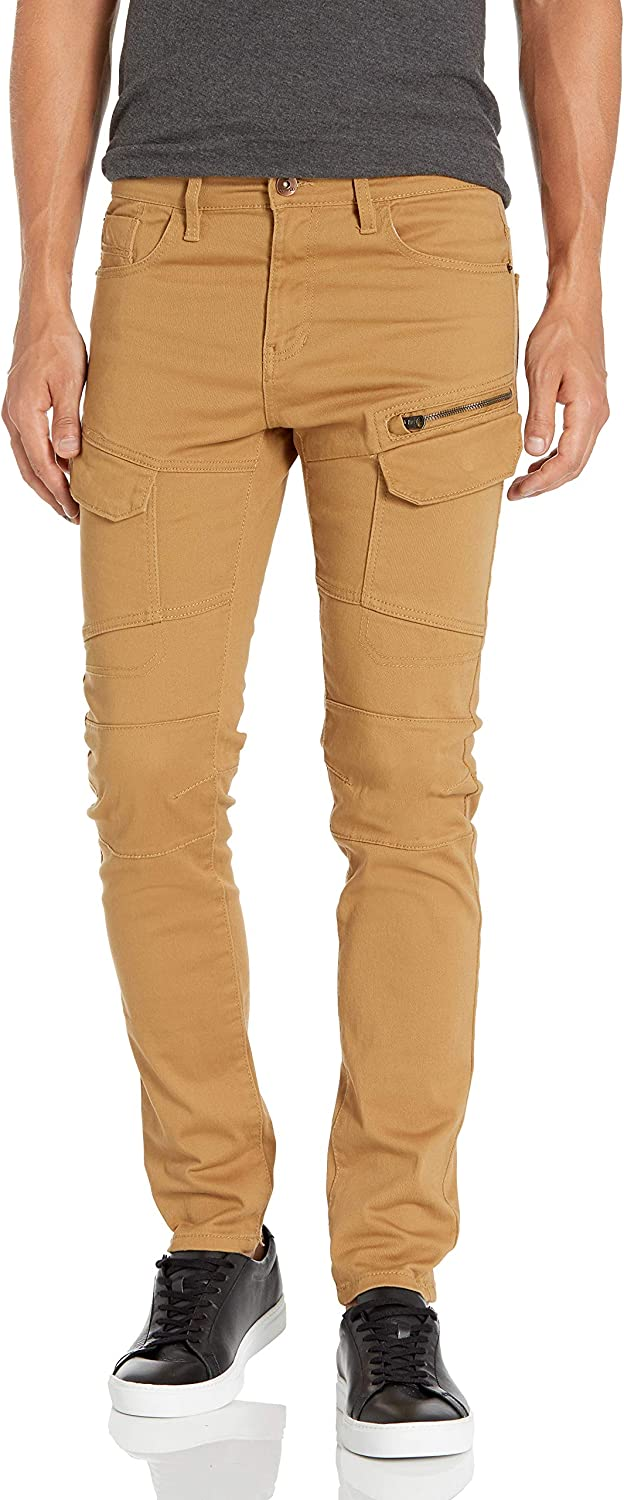 Southpole Men's Skinny Spring new work cheap Twill Pants