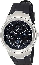 Casio Men's EF305-1AV Edifice Multifunction Watch With Black Resin Band