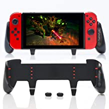 Satisfye - Accessories Compatible with Nintendo Switch - Comfortable & Ergonomic Switch Grip, Joy Con & Switch Control - #...