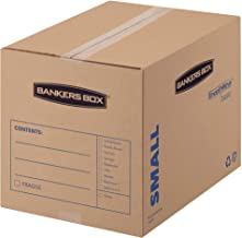 Bankers Box SmoothMove Basic Moving Boxes, Small, 16 x 12 x 12 Inches, 15 Pack (7713802)