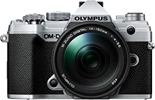 OLYMPUS ミラーレス一眼カメラ OM-D E-M5 MarkIII 14-150mmIIレンズキット シルバー...