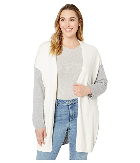 dc47b0688cd Vince Camuto Specialty Size Plus Size Long Sleeve Color Block ...