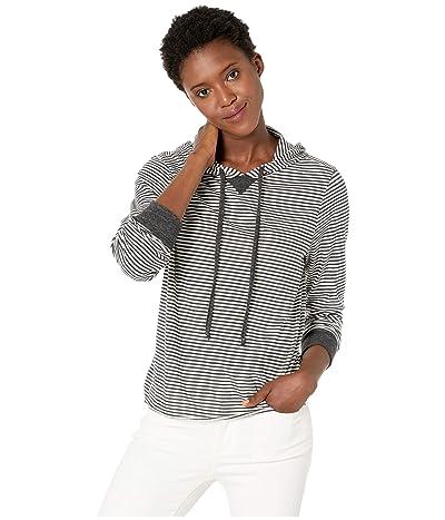 Alternative Day Off Hoodie (Eco Black Classic Stripe) Women