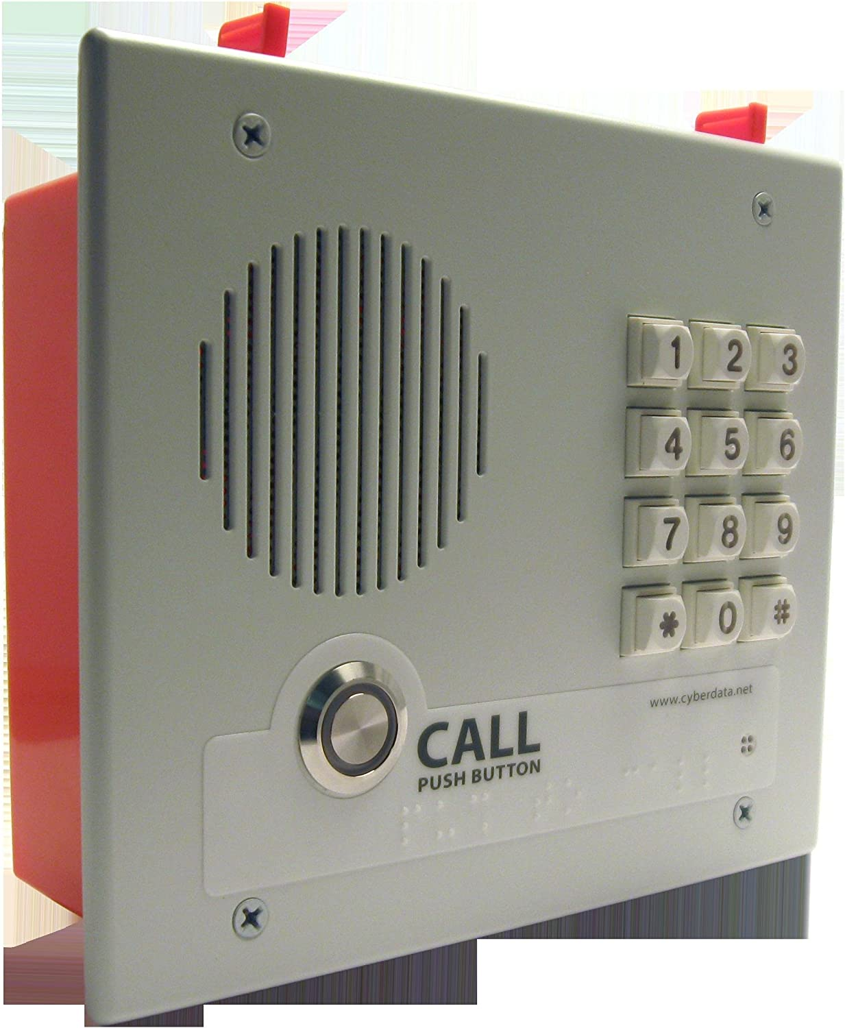 Cyberdata CD-011123 SEAL limited Oakland Mall product VoIP Intercom With - keypad Flush Mount