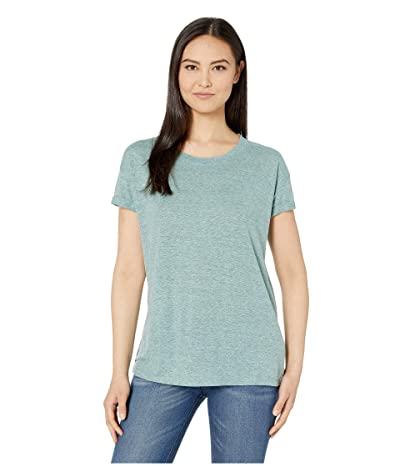 Prana Cozy Up T-Shirt (Iced Aqua Heather) Women