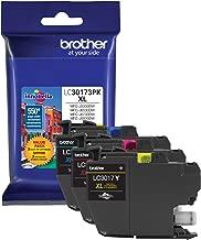 Printer LC30173PK High Yield XL 3 Pack Ink Cartridges- 1 Ea: Cyan/Magenta/Yellow Ink