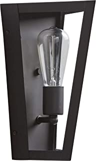 Rivet Mid-Century Modern Outdoor Wall Sconce with Bulb, 11.62